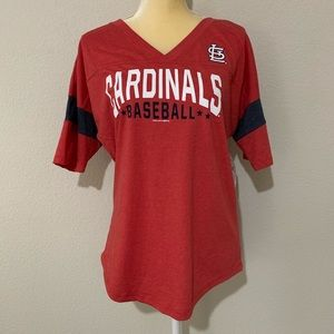 MLB Cardinals V-Neck Shirt